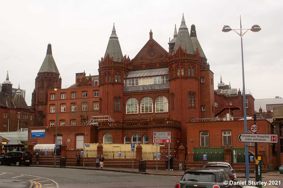 Birmingham Childrens Hospital - A Birmingham Gem!